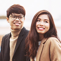 Cặp đôi Hữu Anh - Bảo Vy