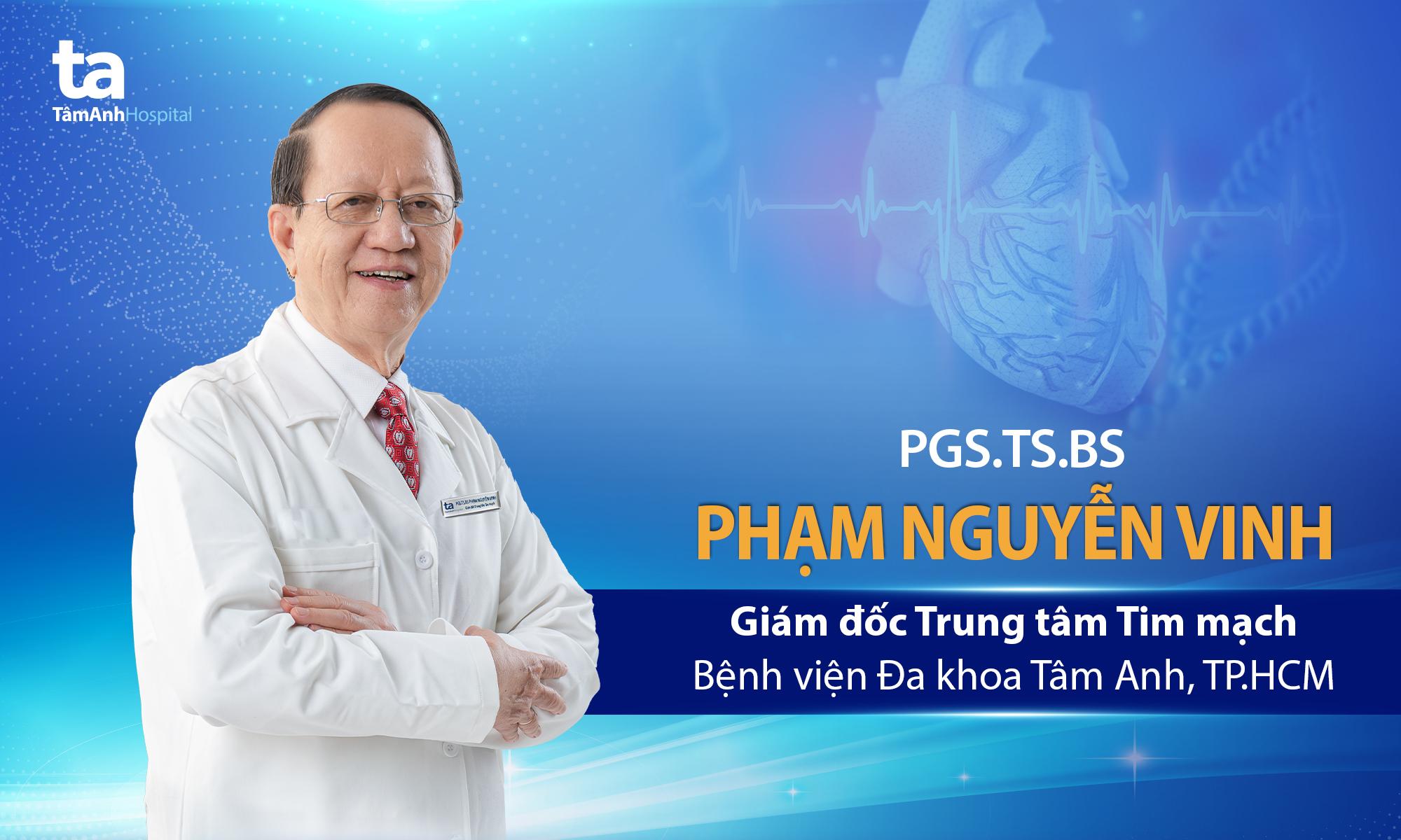 PGS.TS.BS Phạm Nguyễn Vinh