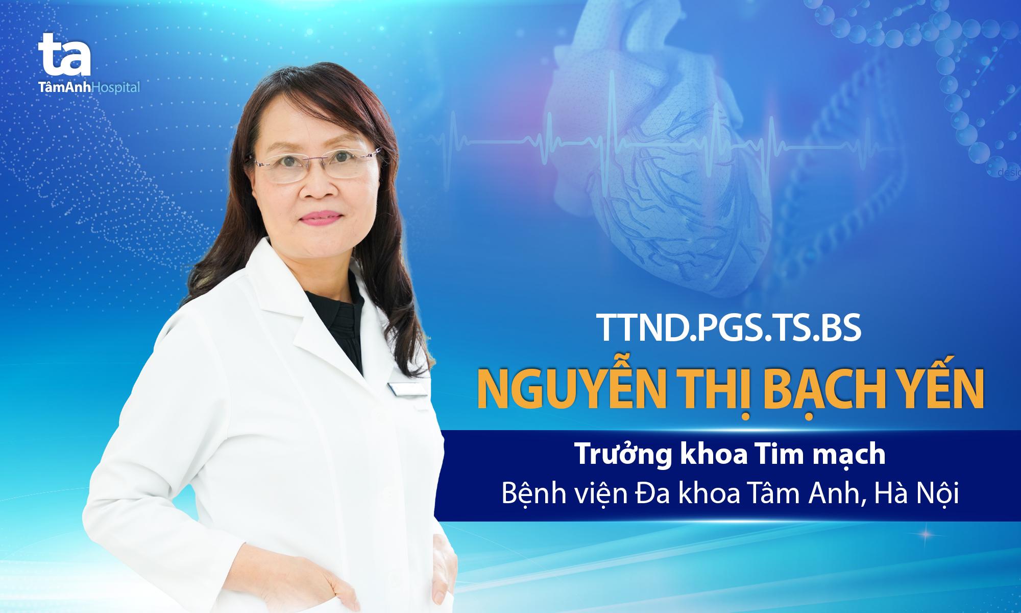 TTND.PGS.TS.BS Nguyễn Thị Bạch Yến