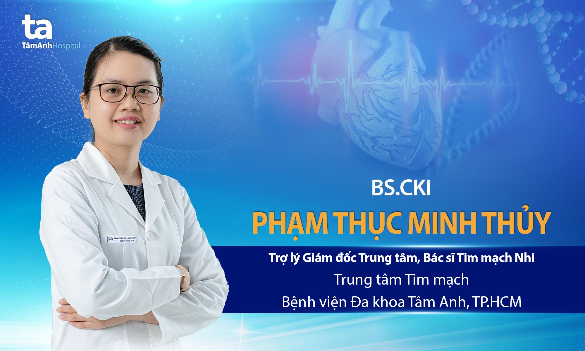 BS.CKI Phạm Thục Minh Thủy