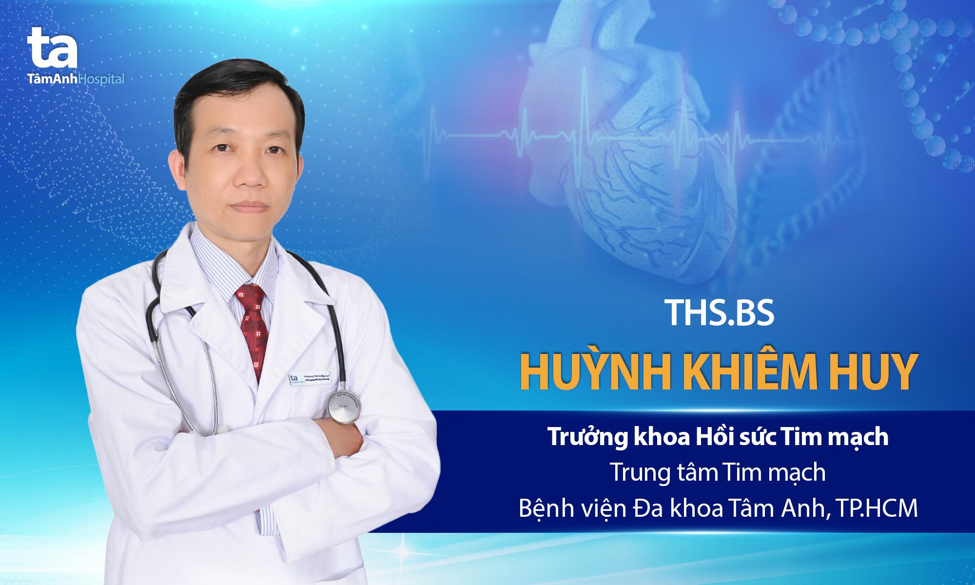 ThS.BS Huỳnh Khiêm Huy