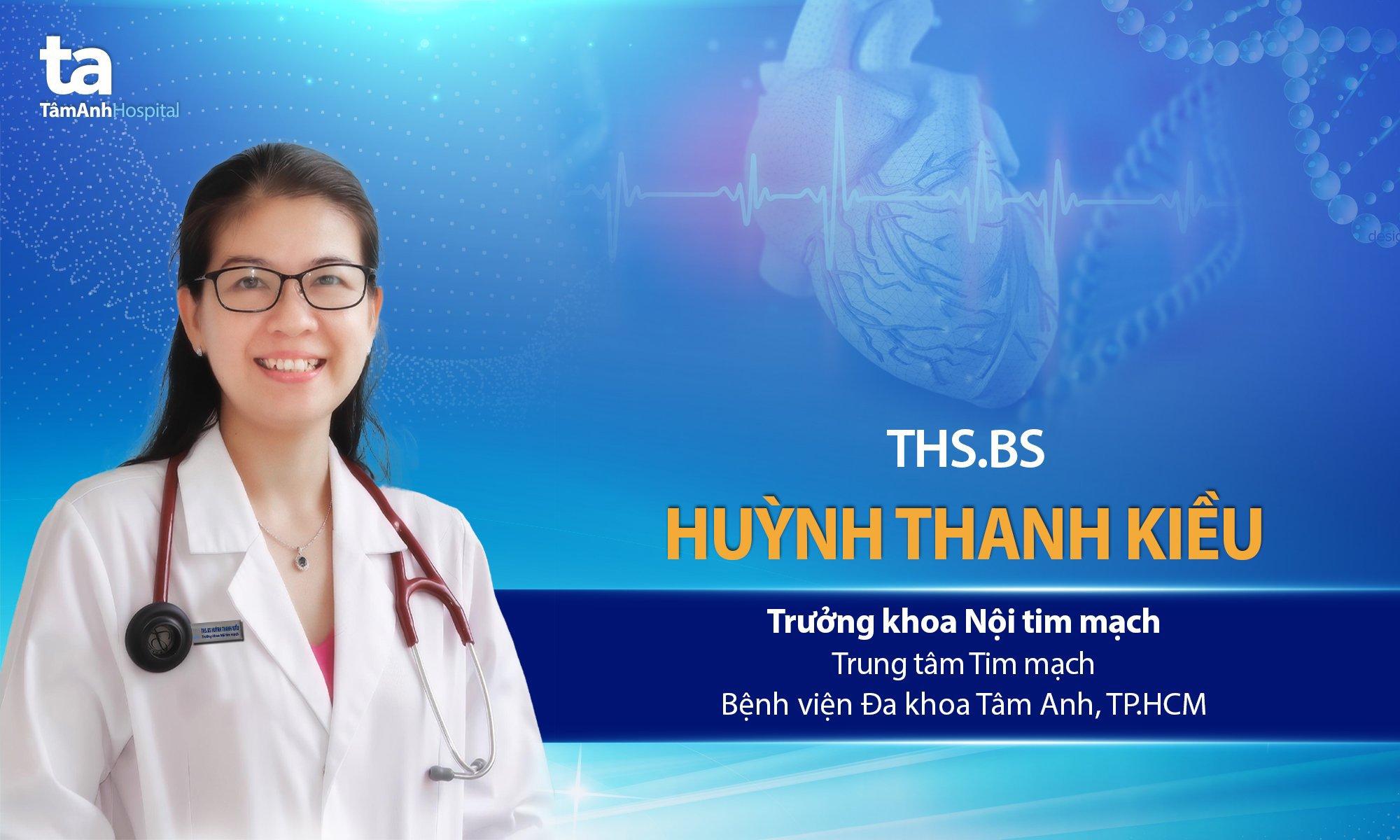 ThS.BS Huỳnh Thanh Kiều