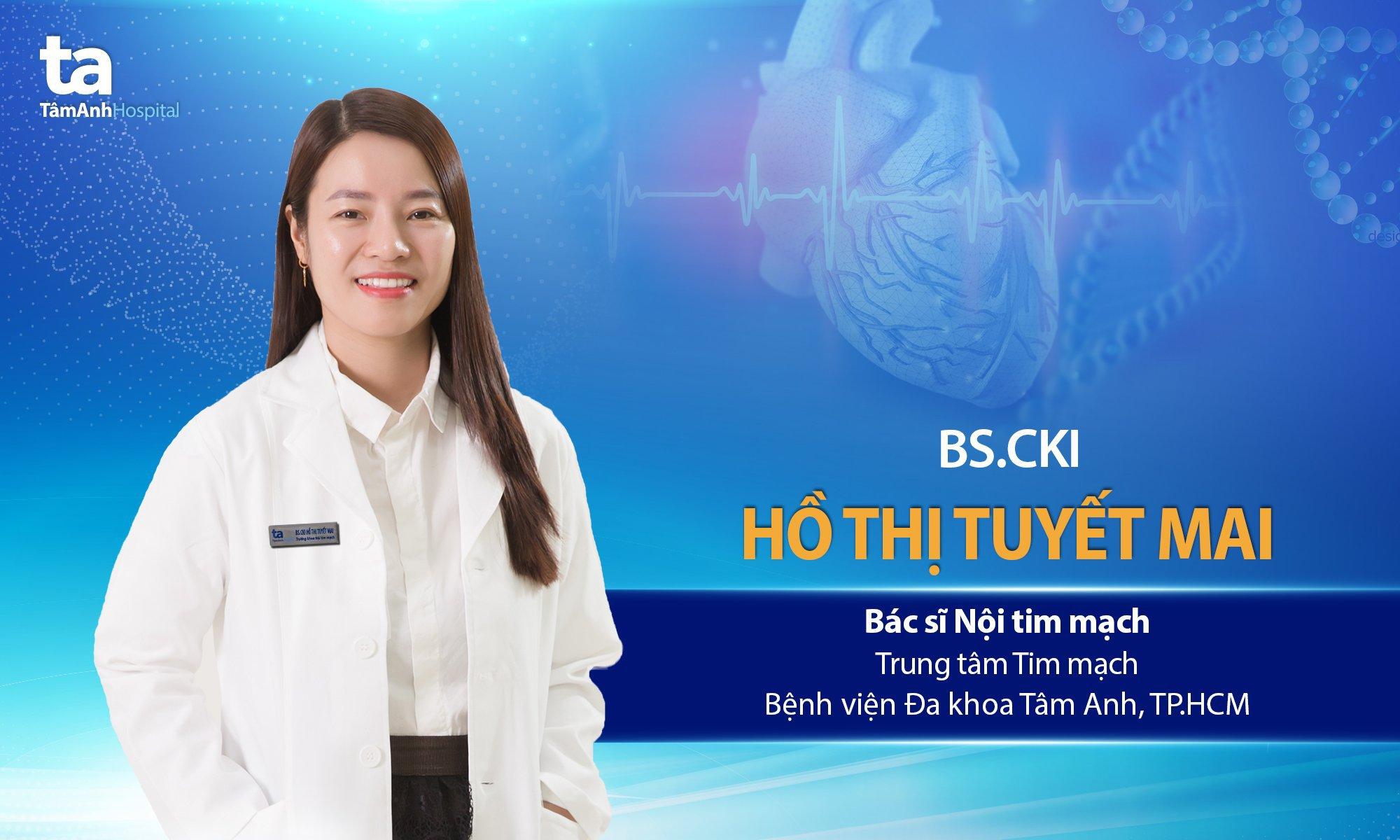 BS.CKI Hồ Thị Tuyết Mai