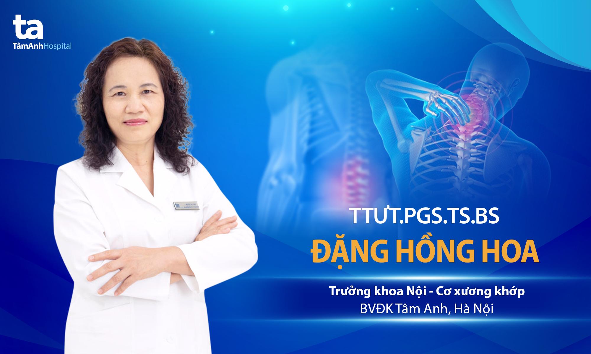 TTƯT.PGS.TS.BS Đặng Hồng Hoa
